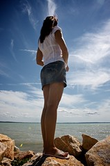 CloudPorn (h.andras_xms) Tags: blue summer sky woman cloud lake girl 1ds markiii csaj csajok handras szexi