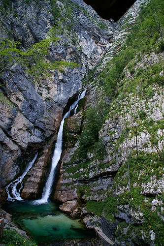 "The Savica Falls • <a style=""font-size:0.8em;"" href=""http://www.flickr.com/photos/26679841@N00/2811713216/"" target=""_blank"">View on Flickr</a>"