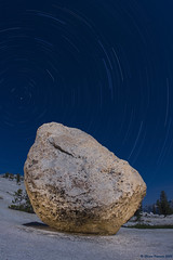 Olmsted Point Star Trails (After Dark Photo) Tags: longexposure nightphotography mountains fullmoon granite astronomy nightsky yosemitenationalpark startrails sierranevadas highsierra olmstedpoint monolake2008workshop
