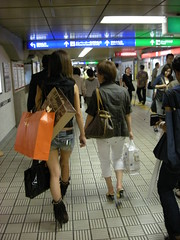 Japanese Women Shopping
