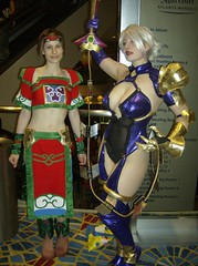 Hot Soul Calibur Goodness! (BelleChere) Tags: costume cosplay ivy soulcalibur dc08 dragoncon2008 seongmina ivyvalentine