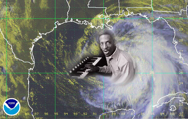 Hurricane Ike Turner. All set to hit the Texas Gulf Coast.
