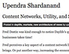 Content Networks, Utility, and Supporting Content Creation « Upendra Shardanand_1221166375050