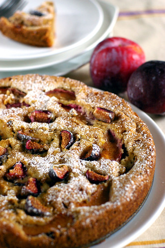 plum & fig cake