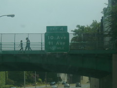 Another Exit 4 sign on NY 27 (Roadgeek Adam) Tags: kingscountyny nassaucountyny ny27 suffolkcountyny queenscountyny