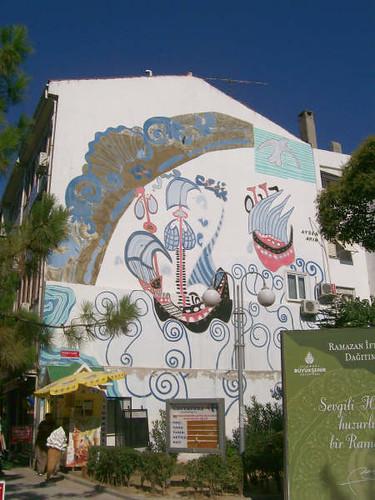 buyukcekmece mural