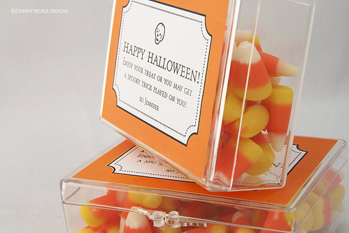 Halloween Favour Box