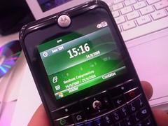 Motorola q11 smartphone