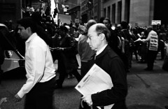 (krameroneill) Tags: nyc wallstreet protest subprimeloans shockdoctrine bailout scam ponzischeme 700billion maybe1or2trillion noquestionsasked leicam2 skopar35c flash trix film krameroneillcom