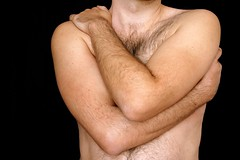 B #3 Heartshaped (just.Luc) Tags: hairy man male arms uomo torso hombre homme armen torse bras