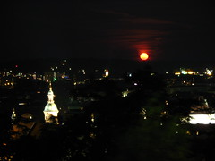 2007 07 01 - 0574 - Graz - View from Schlossberg (thisisbossi) Tags: moon night austria österreich graz moonillusion
