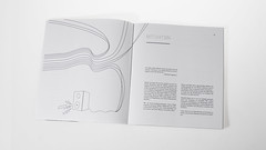 its a book (medejavecu) Tags: music white black lines illustration project paper buch print book design video box bachelor thesis page sound editorial typo brochure schrift absolute illu typografie sabon giganten kommunikationsdesign workbildundtonbook