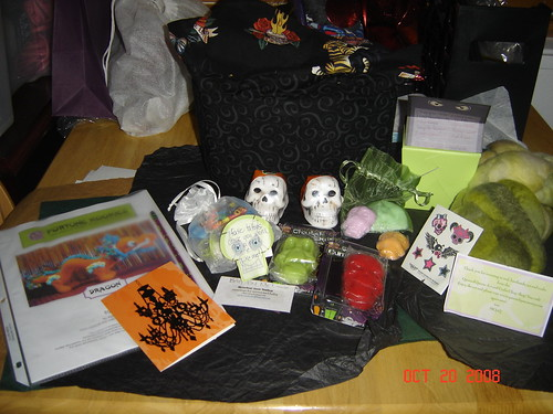 Day of the Dead Swap Package from Devotion to Knit