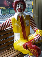 Mac Donald (The MD) Tags: red food death graffiti udon garbage mac meals taiwan fast lips value noe chek donalds hormones