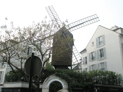 paris windmill.