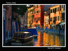 Venice, Italy (DaveSommerPhotos) Tags: venice vacation italy tourism reflections boat canal italian europe facades tourist canals venicecanal waterway veniceitaly bej abigfave platinumphoto