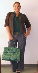 wardrobe 10-24-08 (BellaGaia) Tags: ilovegreen girlscoutbrowniecolors theclosestillgettoabirkenbag