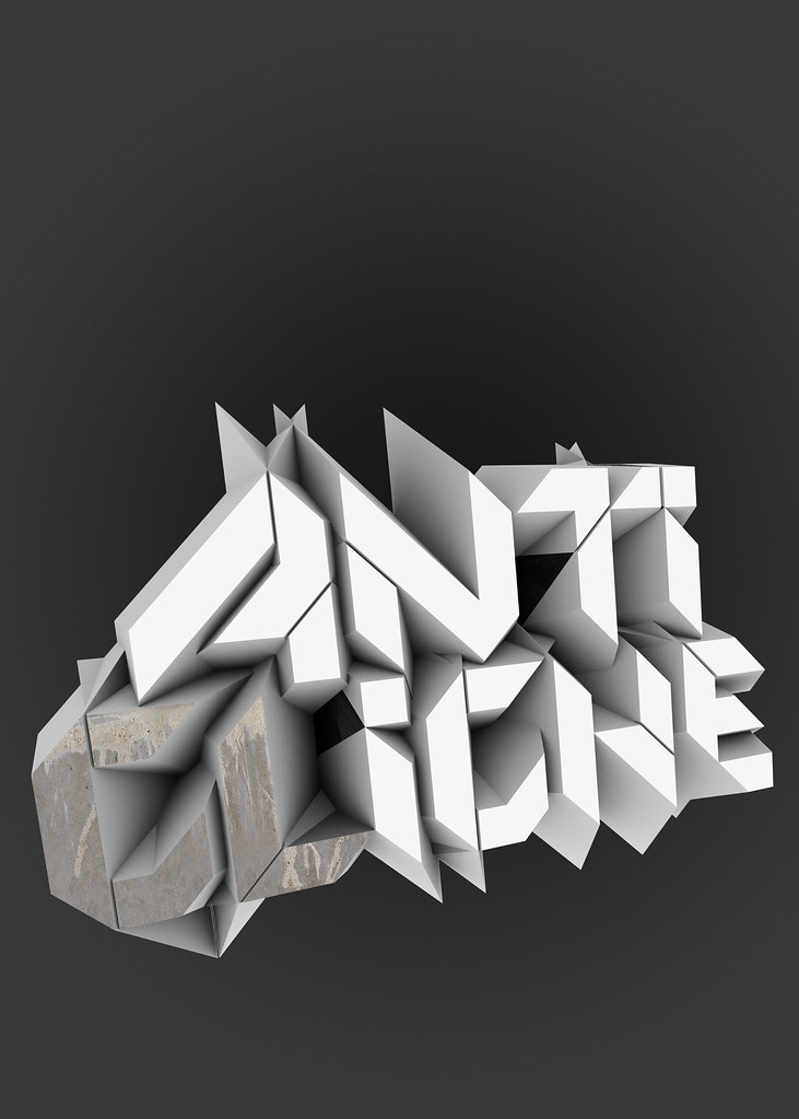 Absolutely Stunning 3D Typography