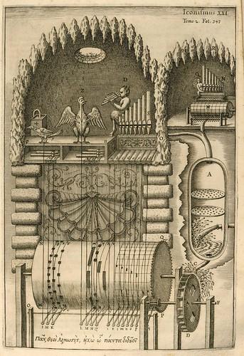 009- pag 353- Musurgia universalis sive ars magna consoni et dissoni [Tome 2]. Maquina automatica sinfonica