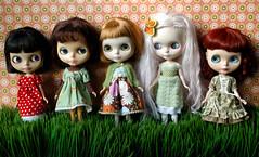 MY 5 blythe girls!