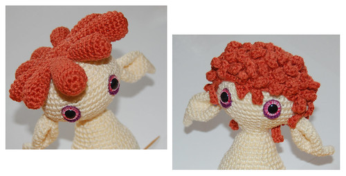 Amigurumi Curly Hair Tutorial : MyGurumi: HOW TO - amigurumi hair