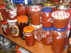 tomato paste for the winter