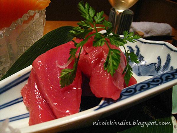 premium tuna sashimi