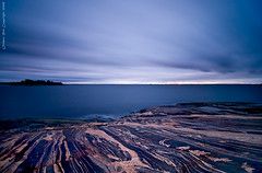 Passing time (Rob Orthen) Tags: longexposure sea sky rock suomi finland landscape nikon europe kallio scenic rob tokina nd scandinavia meri maisema vesi syksy pinta d300 kirkkonummi 1116 porkkala nohdr orthen roborthenphotography tokina1116 tokina1116mm28 seafinland