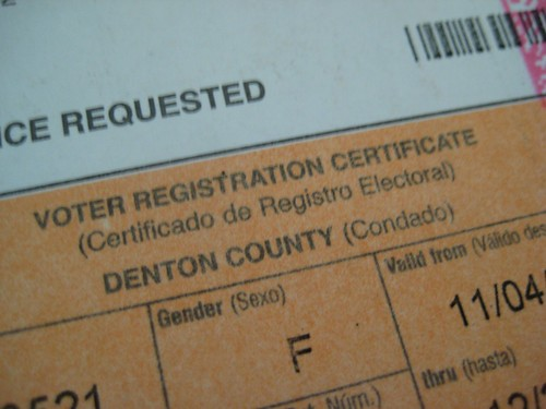 Voters card