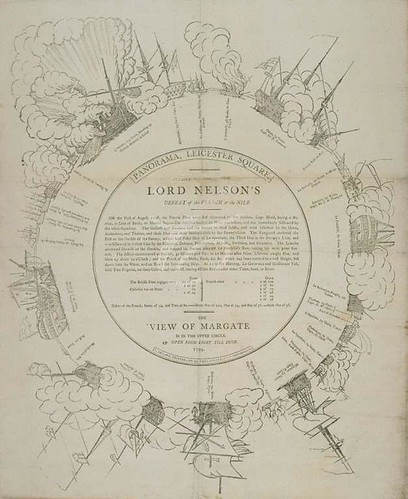 Lord Nelsons' Defeat of the French at the Nile 1799