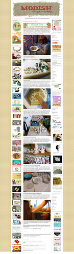 My Handmade Spaces Feature on Modish!