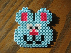 Perler Beads Bunny Rabbit (Kid's Birthday Parties) Tags: rabbit bunny kids easter beads crafts kidscrafts fusebeads hamabeads perlerbeads