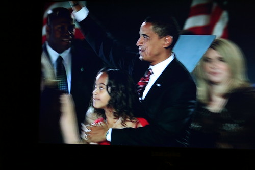 President elect Obama and Malia (Image used under CC license from Dianne Collins)