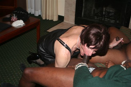 cunts sucking a black cock cocks pics: stockings, slut, whore, highheels, suck, blowjobs