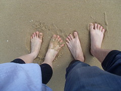 Happy Feet (koalacay) Tags: nov trip lake entrance 2008