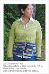 Log Cabin Jacket PDF