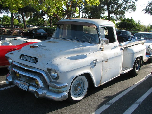 pickup 1957 custom gmc 3h40186