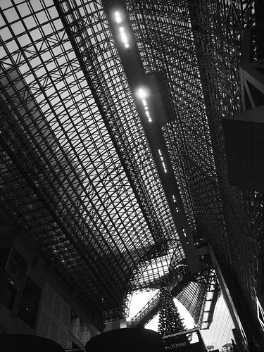 JR Kyoto station building