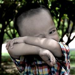 akhil (Fu Ad) Tags: boy baby male kids children child comel malaysia kuala budak melayu lumpur manja najmi akhil cantik jeling fuadabdullah