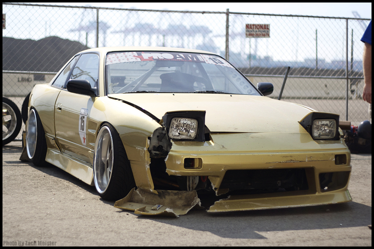 Damaged Gold 240sx