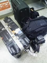カタール帰りの荷物