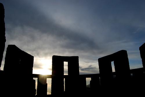 73-Maryhill Stonehenge Sun