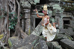 Cambodian Dancer-6 (kedecker) Tags: travel girls portrait girl beautiful beauty dance women asia cambodia traditional religion performance culture dancer tradition angkor apsara cambodiandancer