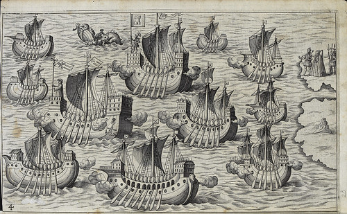 003- La flota española parte hacia las Americas