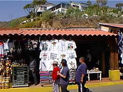cruise99ens24 La Bufadora, Baja California 1999 (CanadaGood) Tags: cruise red people white color colour yellow mxico mexico person 1999 mexican bajacalifornia ensenada streetphoto nineties canadagood