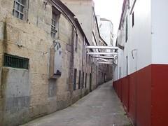 Conservas Orbe: Callejn (Rampopo) Tags: street calle alley strada rasbaixas rue beiramar vigo ra straat ulice  radevigo strase bouzas   conservasorbe
