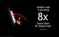 mobile web growth by Will Lion, on Flickr