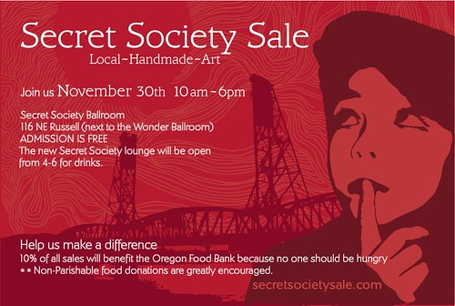 secret society sale