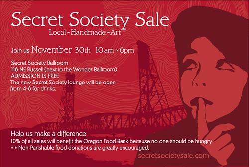 secret society sale