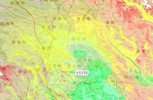 関東造盆地運動中心点?